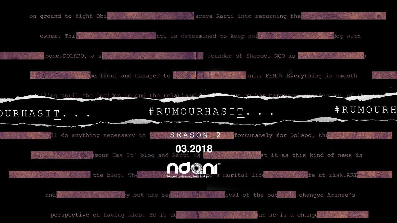 Rumour Has It Season 2 : Official Trailer