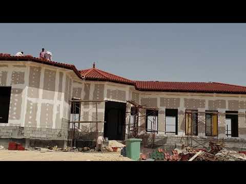 Italic Roof Tile Installation in Qatar