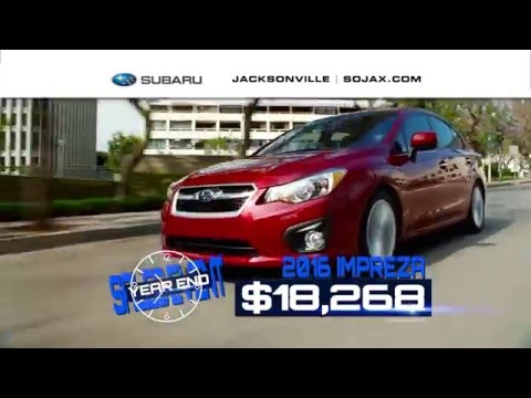 FINAL DAYS OF THE YEAR END SAVINGS EVENT AT SUBARU OF JACKSONVILLE