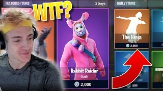 "NEW ""Ninja"" FORTNITE DANCE/EMOTE! - Legendary FREE EASTER SKINS in FORTNITE!"