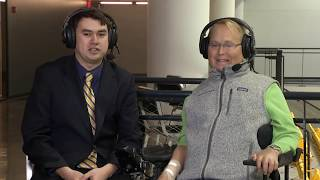 2017 Junior Beanpot: Travis Roy Interview (2/26/17)