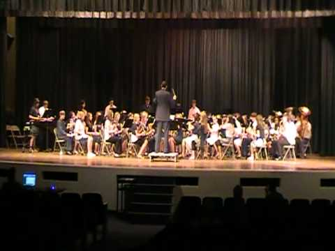 Lieutenant Commander March - Spring Hill Junior High Band