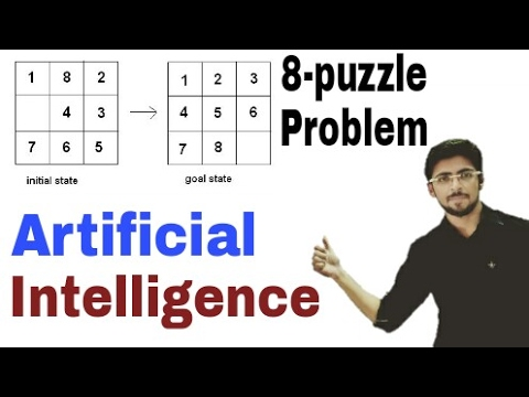 8-puzzle Problem | Artificial Intelligence | (Eng-Hindi) | #14