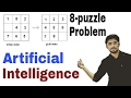 8-puzzle Problem in Artificial Intelligence | Artificial Intelligence | (Eng-Hindi) | #14