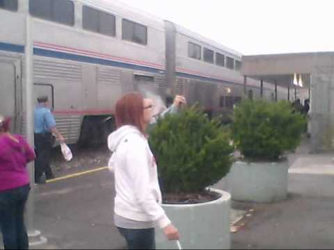 "A fall ride on Amtrak's ""Capitol Limited."""