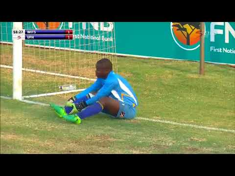 Wits vs UFH  Brilliant Free Kick by Solomzi Dinga