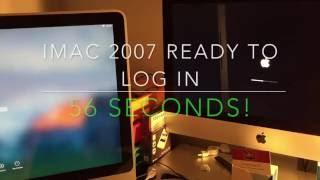 iMac SSD vs HDD comparison