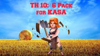 Clash of Clans- TH 10-six pack for Kasa in Clan War