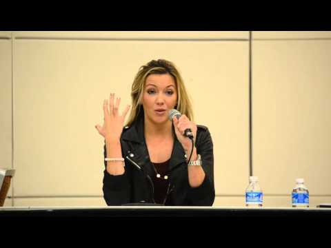 Katie Cassidy at Baltimore Comic con 9-27-15 part 2 of 3