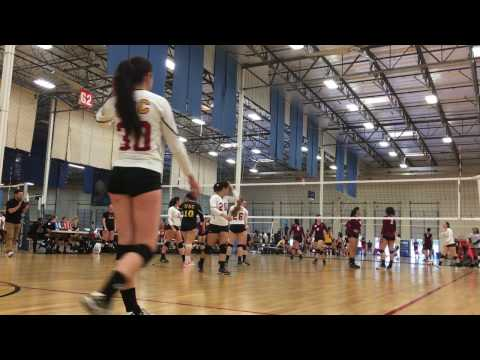 USC B vs. APU @ ASC 4/1/17 Game 2 SCCVL League Championships (Pool Play)