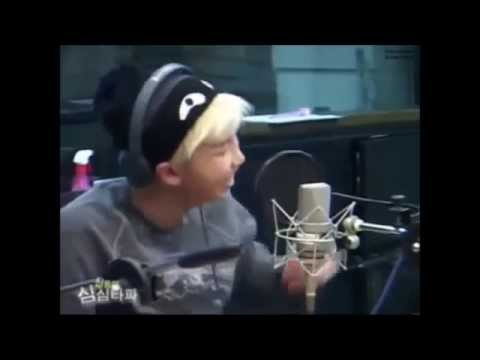 [Eng Sub] Rap Monster Trying To Imitate Bang Yongguk, TOP & Ravi
