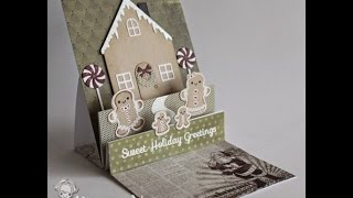 Yns Stair Step Surprise Easel Card