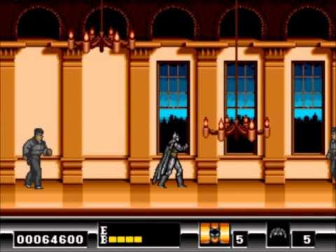 Top 5 Juegos De Batman Para Sega Genesis Youtube