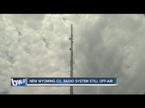 New first responder radio system in Wyoming County still off-air