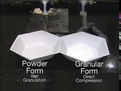 口服固体制剂配方产品特征
