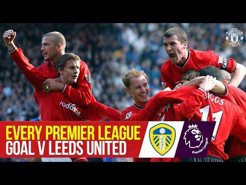 Every Premier League Goal vs Leeds | Cantona, Keane, Beckham & More | Manchester United