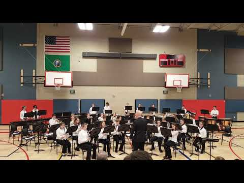 Tumwater Middle School Symphonic Band Armed Forces Salute