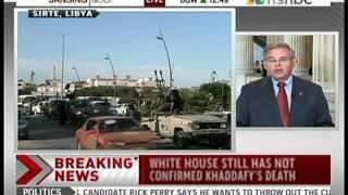 Senator Menendez Talks to MSNBC