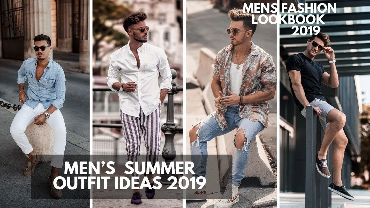 New Hot Summer Fashion For Men । Men's Summer Fashion 2019 Ideas | Streetwear For Summer | Lookbook