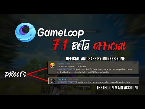 Gameloop 7 1 Beta Official Official From Gameloop With English Subtitles Youtube