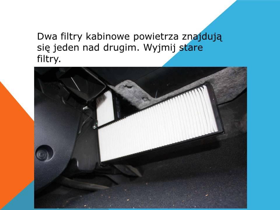 Jak wymienić filtr kabinowy filtr pyłków kurzu na Hyundai ...
