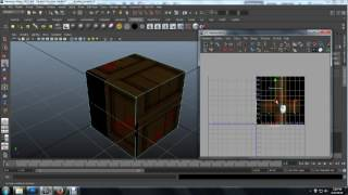 Wooden Crate UV Mapping