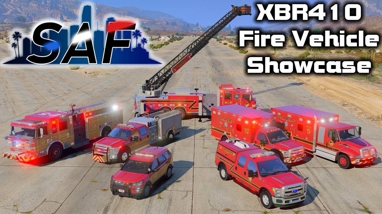 San Andreas' Finest - Fire Vehicles Showcase