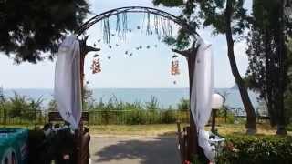 Подготовка к свадьбе в Болгарии на море в Варне