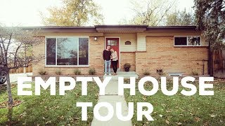 Empty House Tour! We Bought A House!