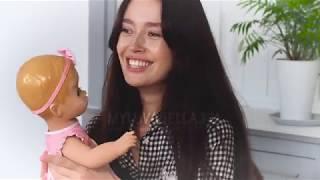 Видеообзор живой куклы Лувабелла   Luvabella на русском языке