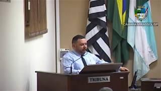 20ª Sessão Ordinária - Vereador Walmir Chaveiro