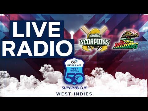 🔴LIVE RADIO Jamaica vs Guyana   CG Insurance Super50 Cup