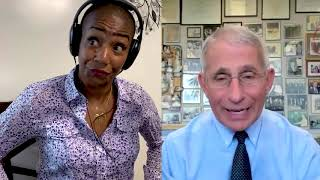 Tiffany Haddish is asking Dr. Fauci Will a COVID-19 vaccine be safe?