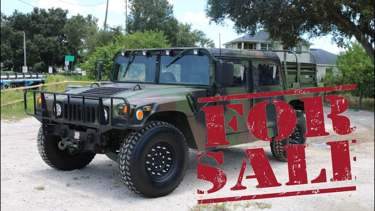 Humvee Build - Humvee For Sale right now! Go check it out! | hummer humvee for sale