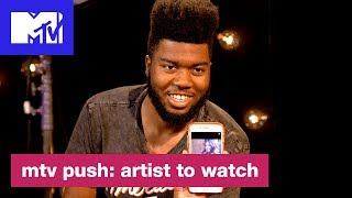Khalid On Being Featured on 'Rollin' by Calvin Harris & More | Push: Artist to Watch | MTV