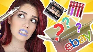 Ich wurde vera*scht 😡 EBAY MAKE-UP 200€ Mystery BOX LIVE Test I Luisacrashion