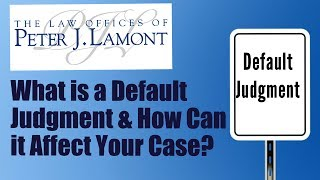 What is  Default Judgment?