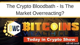 The Crypto Bloodbath - Is The Market Overreacting
