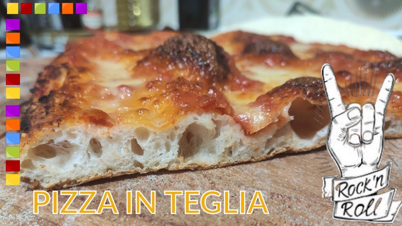 Farina Garofalo W350 Ricetta Pizza.Pizza In Teglia Con Farina Garofalo W350 Lunga Lievitazione Alta Idratazione Youtube