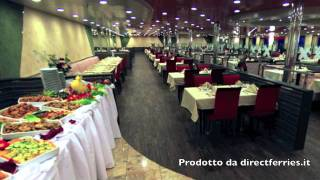 A bordo della nave Cruise Barcelona con Grimaldi Lines