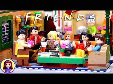 Friends Central Perk Cafe - Lego Ideas Build