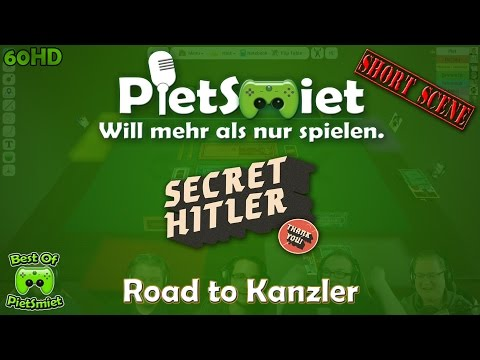 Best Of PietSmiet 🎮 Tabletop Simulator - Secret Hitler «» # Road 2 Kanzler «» [60HD]