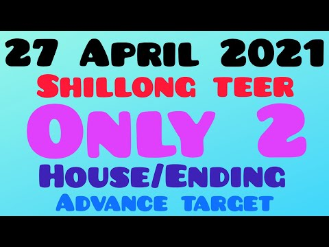 Shillong Teer FR- 29 Success   Date: 27-04-2021   House   Ending   Direct Guti  
