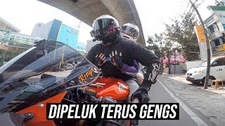 TIPS BONCENGAN + MODUS DIKIT 😉 | Dual Vlog with Doi