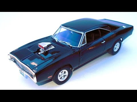 How To Build Dominic S F 1970 Dodge Charger 1 25 Scale Revell Model Kit 85 4319 Review