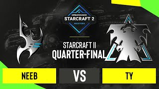 SC2 - Neeb vs. TY - DH Masters: Winter 2020 - Quarter-final - Season Finals