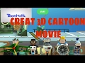 How to create CARTOON movie and animation by Google toontastic