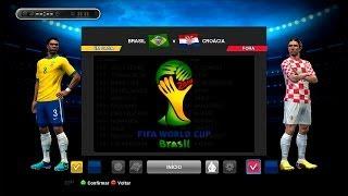 PES 2013 - Copa do Mundo da FIFA Brasil 2014 - Brasil x Croácia