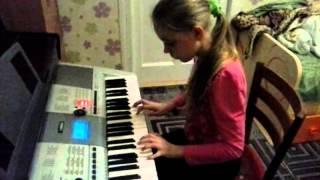 """Музыка из фильма """" Сумерки"""" на синтезаторе"""