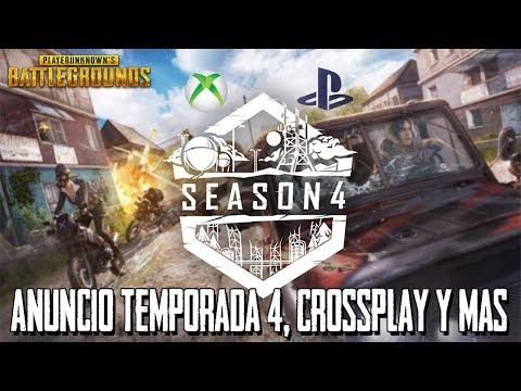 PUBG XBOX ONE/PS4 Anuncio Season 4 | Crossplay | Erangel 2.0 | Battlegrounds Temporada 4